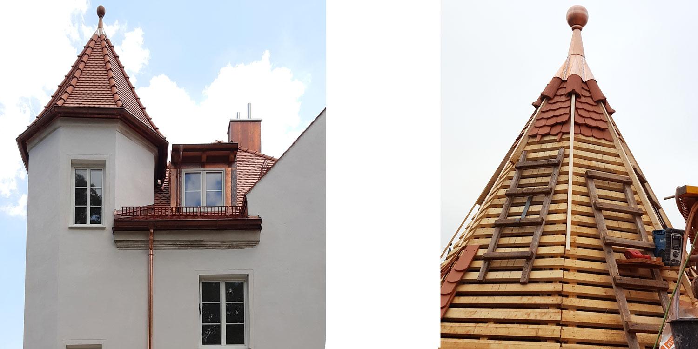 Ziegelturmdach Landshut